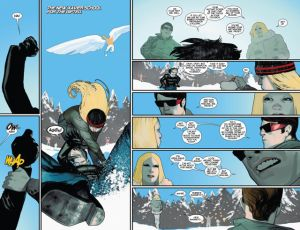 Uncanny X-Men V3 10 Magik Tempus training 1