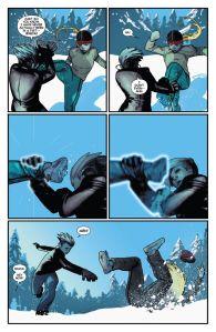 Uncanny X-Men V3 10 Magik Tempus training 2