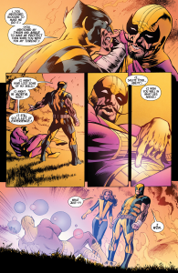 Wolverine V4 9 Kitty Batroc Defeated