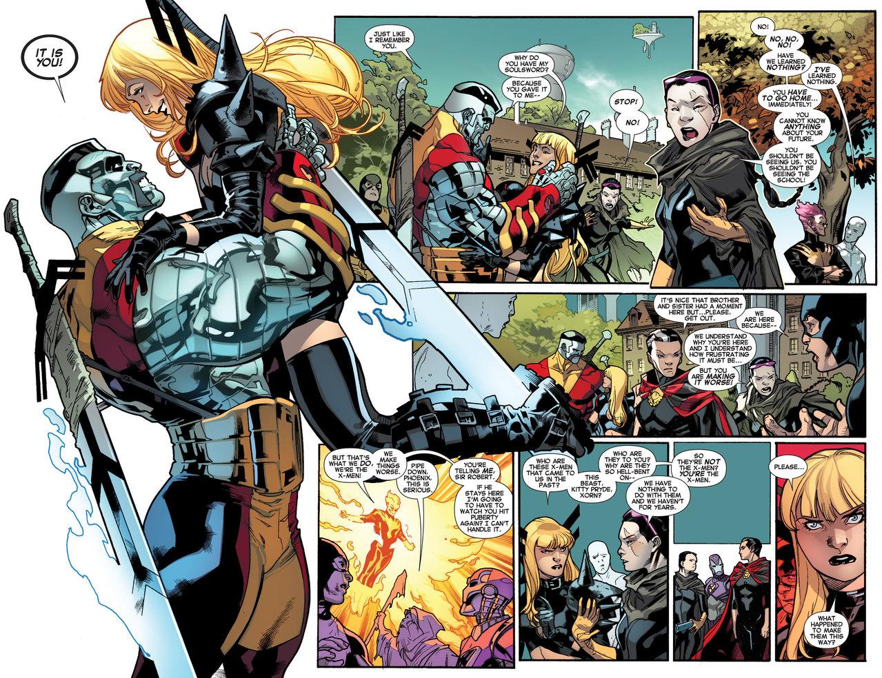 All New X Men 17 Magik 1