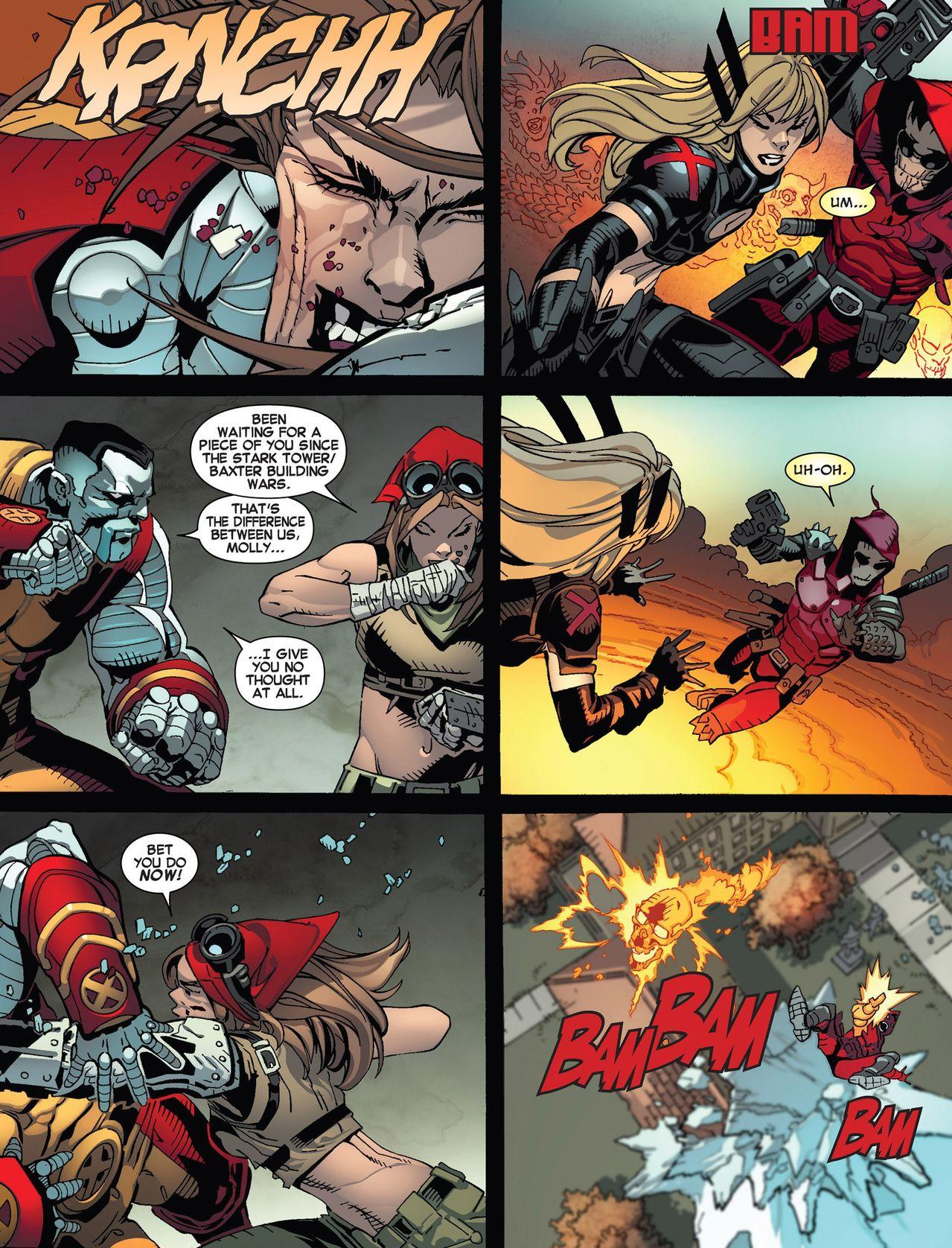Uncanny X Men Magik BotA | Shadow and Flam...