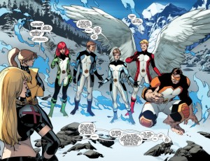 All New X-Men 18 All New Costumes