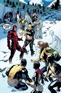All New X-Men 18 Kitty Magik Two Teams