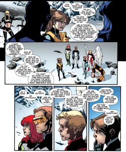 All New X-Men 18 Kitty Train Speech