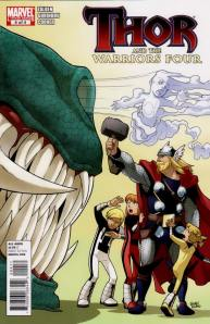 Thor and the Warriors Four 4