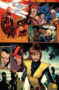 X-Men Battle of the Atom 2 Cyclops Smirk Magik Teleport Kitty Gone