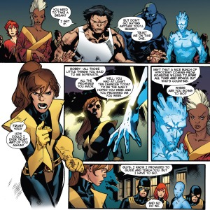 X-Men Battle of the Atom 2 Kitty no trust