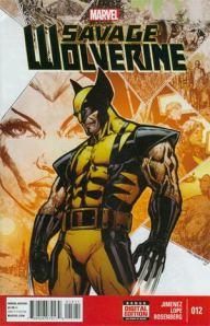 Savage Wolverine 12