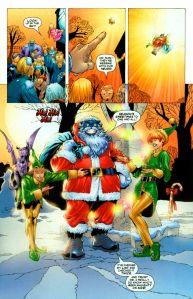 X-Men 165 Santa Beast Kitty Lockheed Rachel
