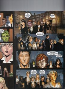 New X-Men 32 Kitty Pryde Funeral 1