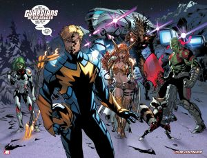 All New X-Men 22 Last Page Guardians of the Galaxy