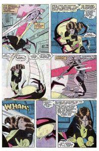 Uncanny X-Men 168 Fight