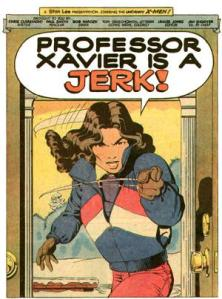 Uncanny X-Men 168 Kitty Xavier is a Jerk