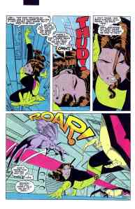 Uncanny X-Men 168 Shadow and Flame in Action