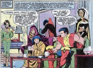 Uncanny X-Men 169 Lockheed listening