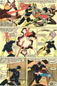 Uncanny X-Men 175 Lockheed vs Cyclops
