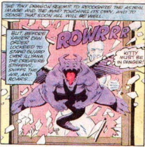 X-Men Micronauts 4 Lockheed crash window