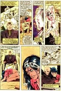 X-Men Micronauts 4 Xavier Dani mind rape