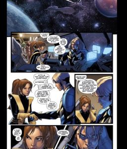 Guardians of the Galaxy V3 12 Kitty Quill Introductions