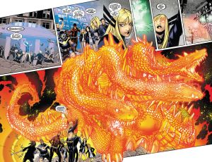 Uncanny X-Men V3 19 Magik spell