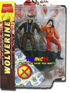 Marvel Select Days of Future Past Wolverine and Kate Pryde