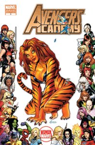 Avengers Academy 3 Tigra Women of Marvel Variant