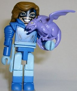 Marvel Minimates Shadowcat with Lockheed