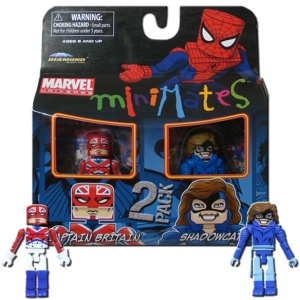 Marvel Minimats Shadowcat box