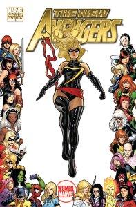 New Avengers V2 3 Woman of Marvel Variant