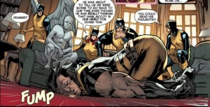 All New X-Men 2 Wolverine sleeping