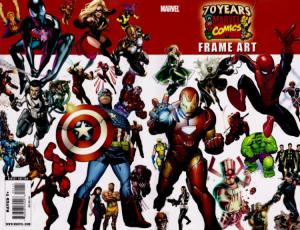 Marvel 70th Anniversary Frame Art
