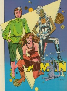 Marvel Fanfare 18 Terry Austin X-Men