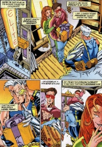 Marvel Holiday Special 1996 Cable