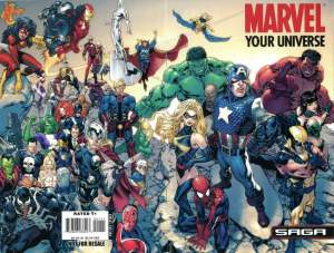 Marvel Your Universe Saga