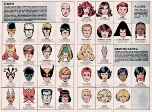 Paul Smith Handbook X-Men