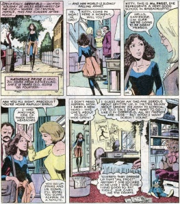 Uncanny X-Men 129 First Kitty Pryde and Emma Frost