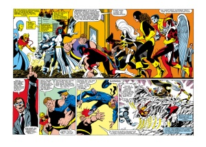 Uncanny X-Men 142 Kitty Splash