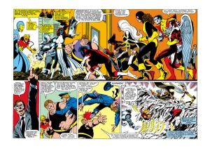 Uncanny X-Men 142 Kitty Splash
