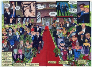 X-Men 30 Wedding Attendance