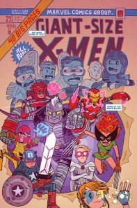 All New X-Men 25 Hipp Magik Cap son