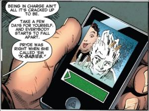 Amazing X-Men 8 Kitty Pryde on Wolverine phone