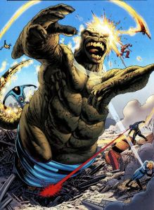 Astonishing X-Men 7 Fantastic Four Monster
