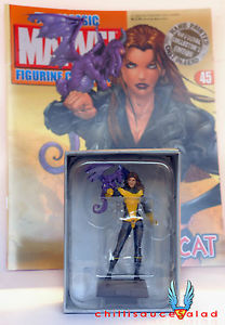 Classic Marvel Figurine Collection 45 Kitty Pryde Lockheed