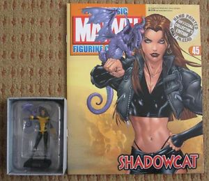 Classic Marvel Figurine Collection 45 Kitty Pryde with Lockheed