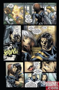 Ultimate X-Men Fantastic Four Annual 1 Kitty 4