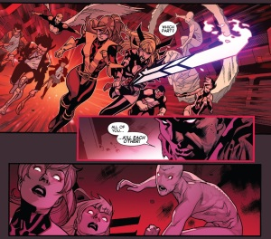 All New X-Men 29 Kitty attack