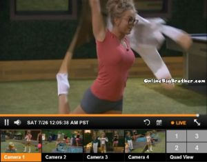 BB16 Nicole Red Shirt