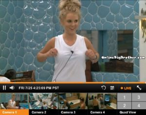 BB16 Nicole white shirt