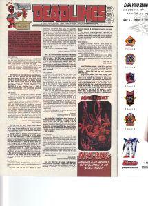 Deadpool 56 Letter Page