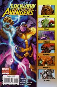 Lockjaw and the Pet Avengers 1 2nd Printing Variant